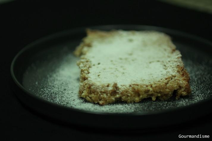 gourmandisme - santiago cake