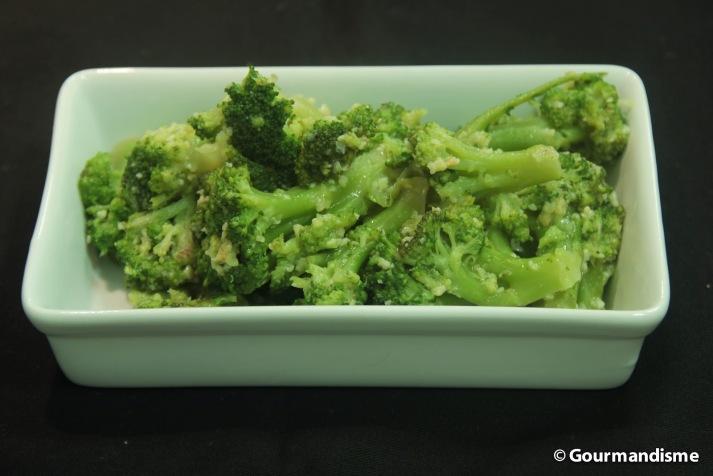 gourmandisme - brocolis grelhados