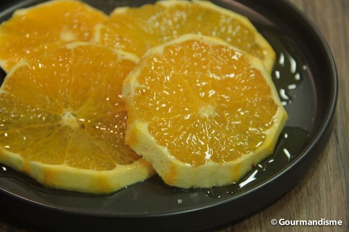 gourmandisme - laranjas com mel e azeite